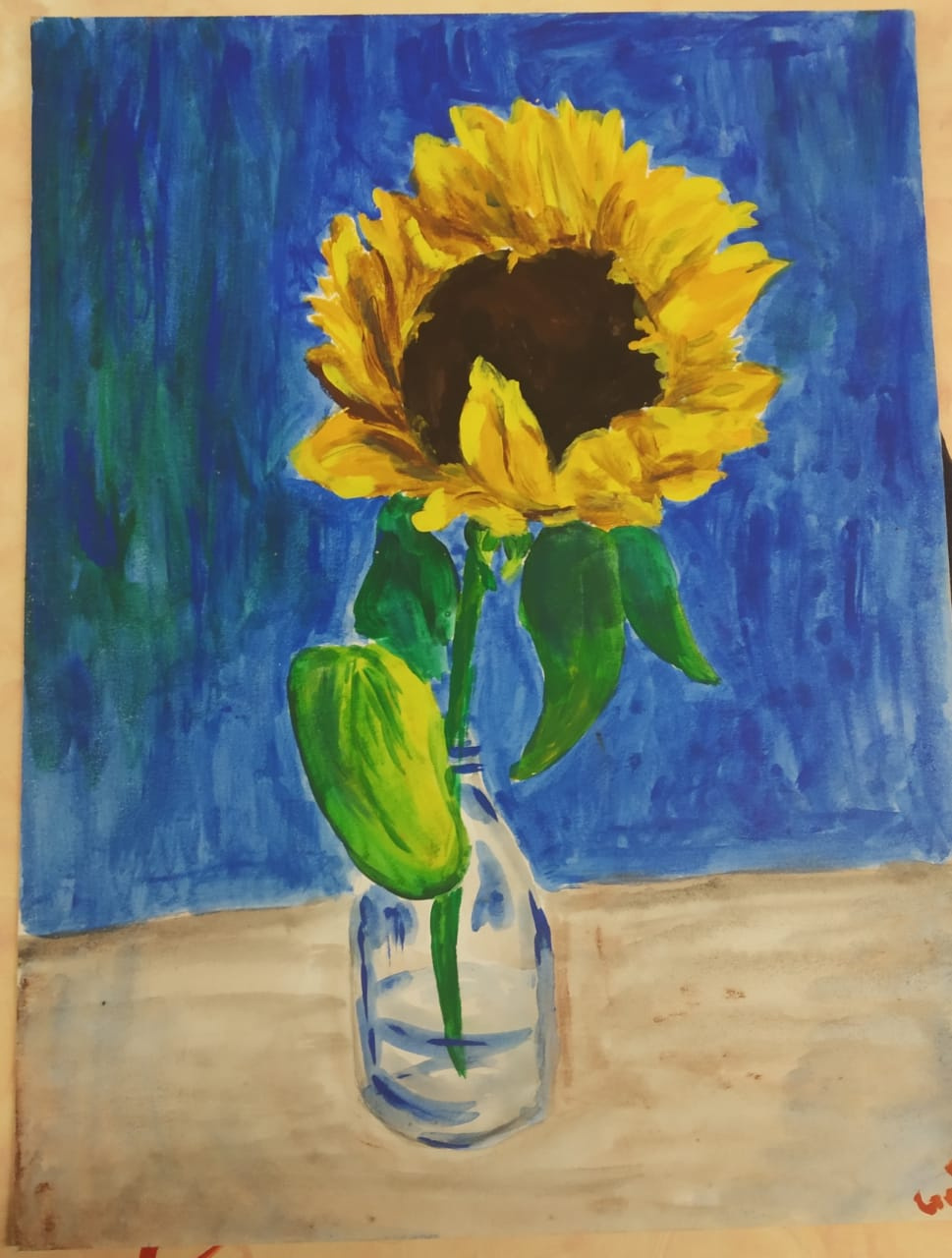 Galina Pomeshchenko. Sunflower
