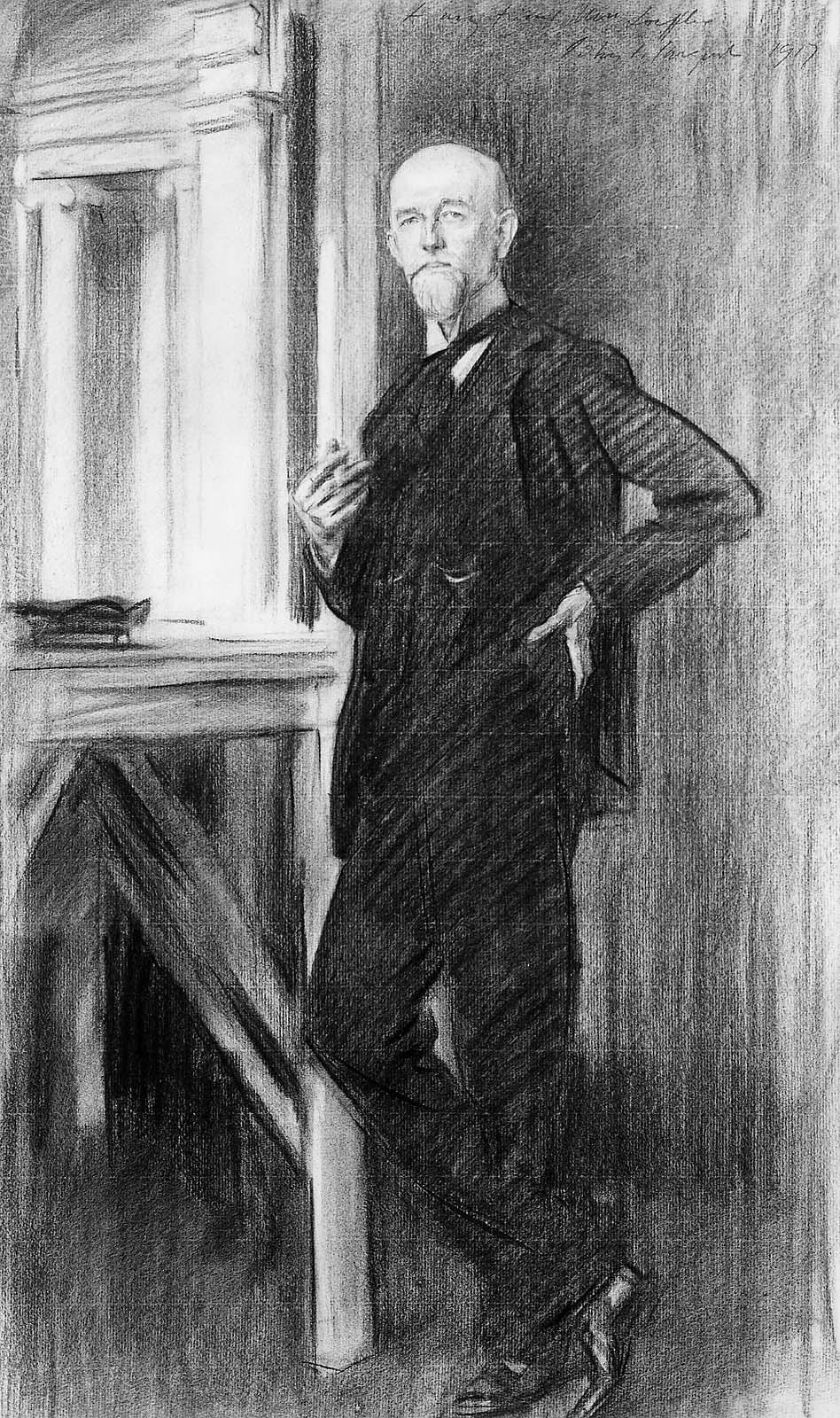John Singer Sargent. Portrait Of Charles Martin Lefler