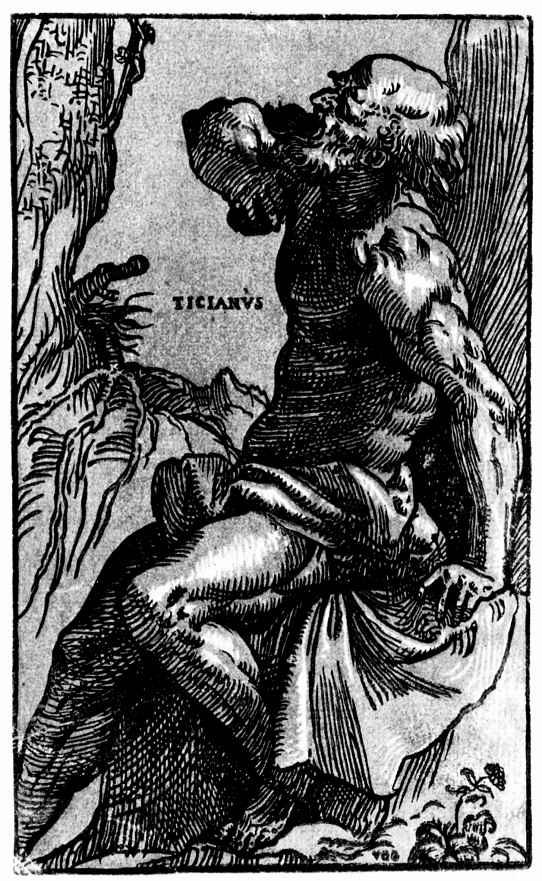 Тициан Вечеллио. Святой Иероним перед распятием