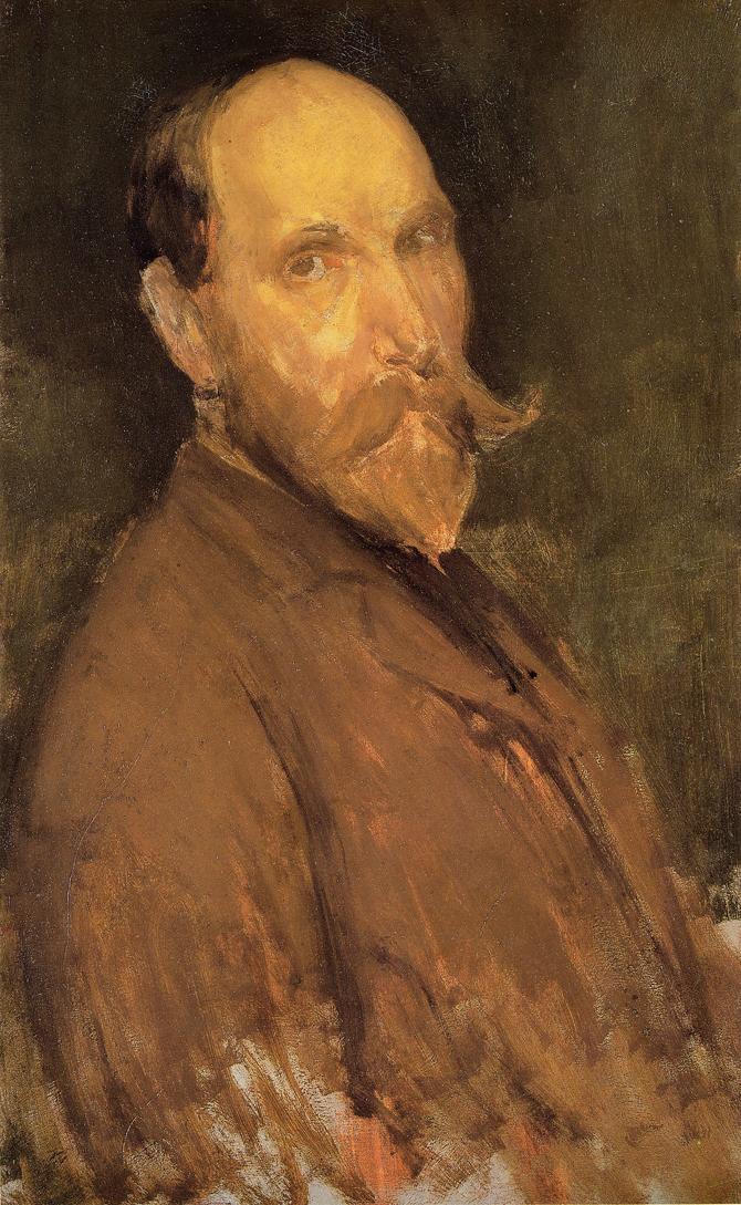 James Abbot McNeill Whistler. Portrait Of Charles L. Freer