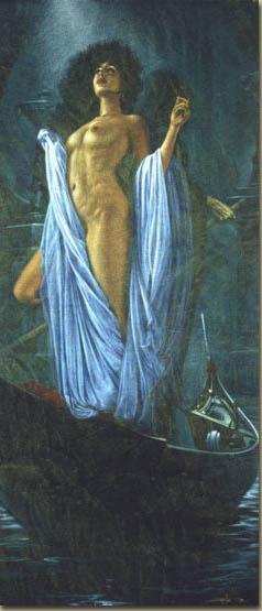 Уолтер Гиротто. Девушка в голубом