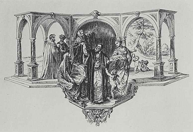 Адольф фон Менцель. Апофеоз Тициана