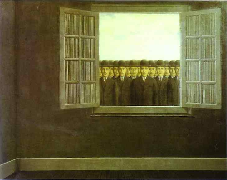 Rene Magritte. The month of the grape harvest & The month of the grape harvest by Rene Magritte: History Analysis ...