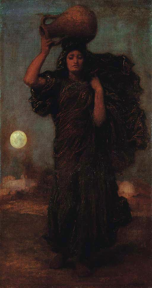 Frederic Leighton. Woman from the nile
