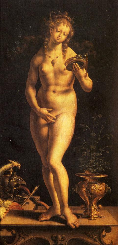 Jan Gossaert. Venus and the mirror