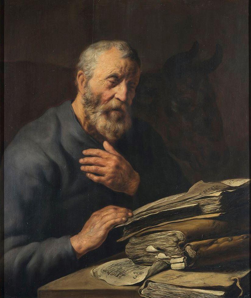 Ян Ливенс. Евангелист Лука