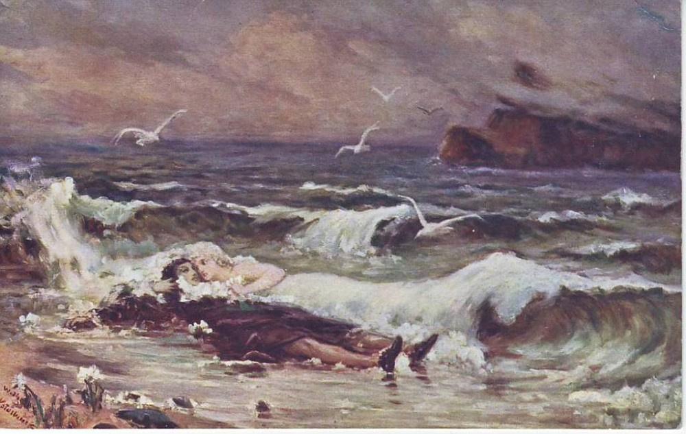 Вильгельм Александрович Котарбинский. Поцелуй волны