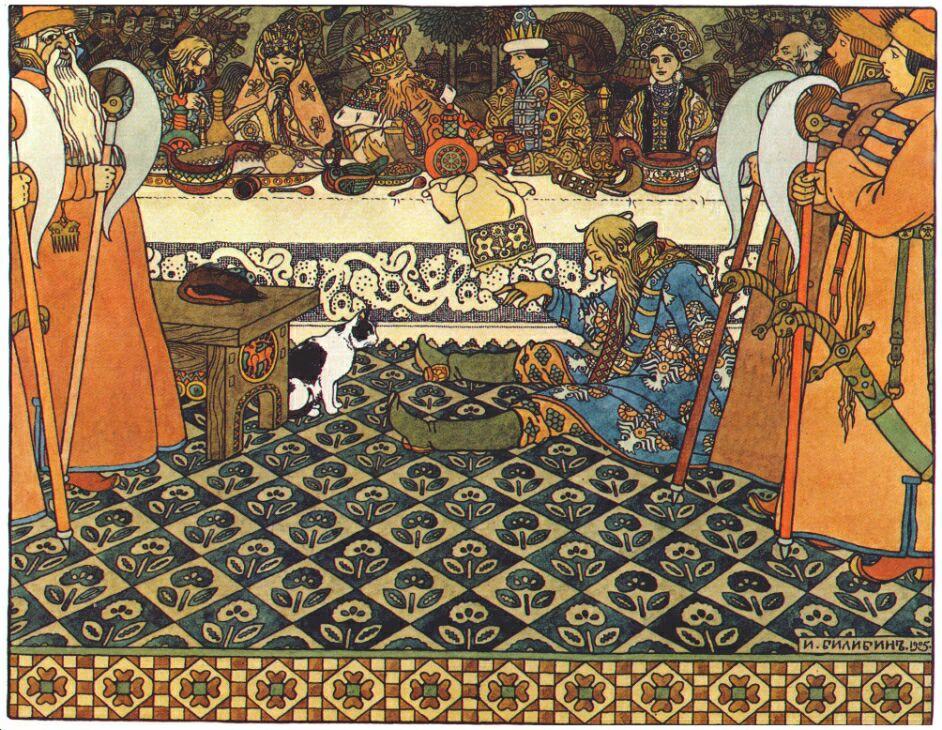 Иван Яковлевич Билибин. Царь Салтан