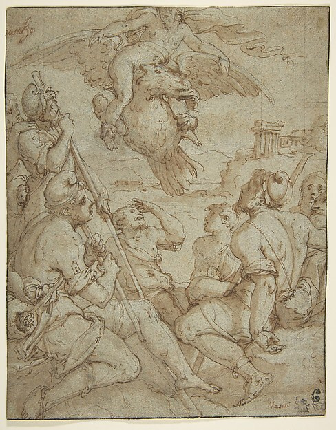 Giorgio Vasari. The Abduction Of Ganymede