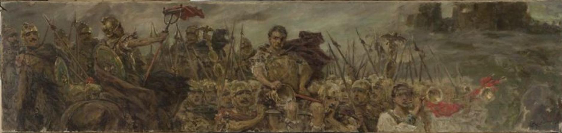 Вильгельм Александрович Котарбинский. Поход армии после победной битвы