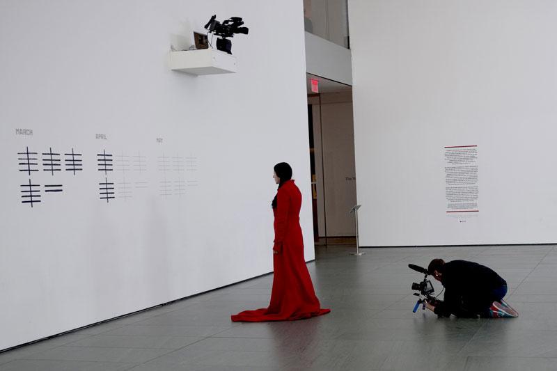 Artist's presence