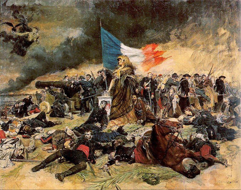 Жан-Луи-Эрнест Месонье. Флаг