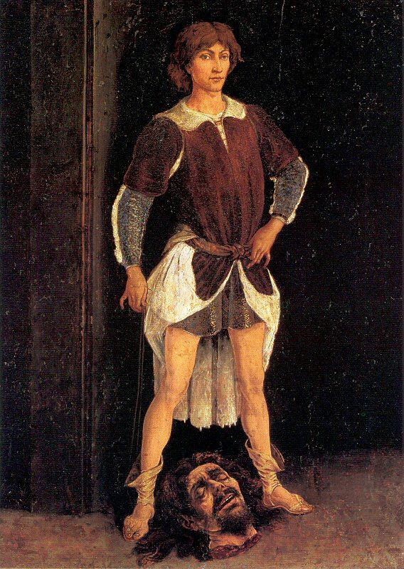 Антонио Поллайоло. Голова