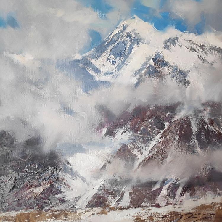 Denis Valerievich October. Fog in the mountains-3