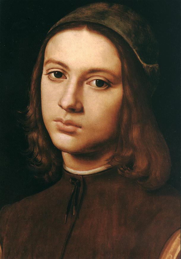 Пьетро Перуджино. Портрет молодого человека