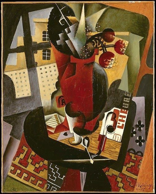 Jean Metzinger. The table by the window