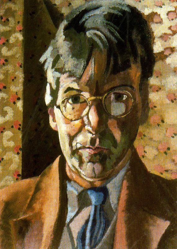 Джон Роддэм Спенсер-Стенхоуп. Портрет мужчины в очках