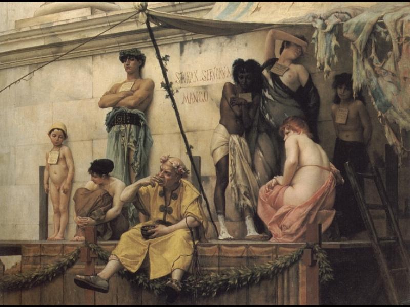Гюстав Буланже. Рынок рабов