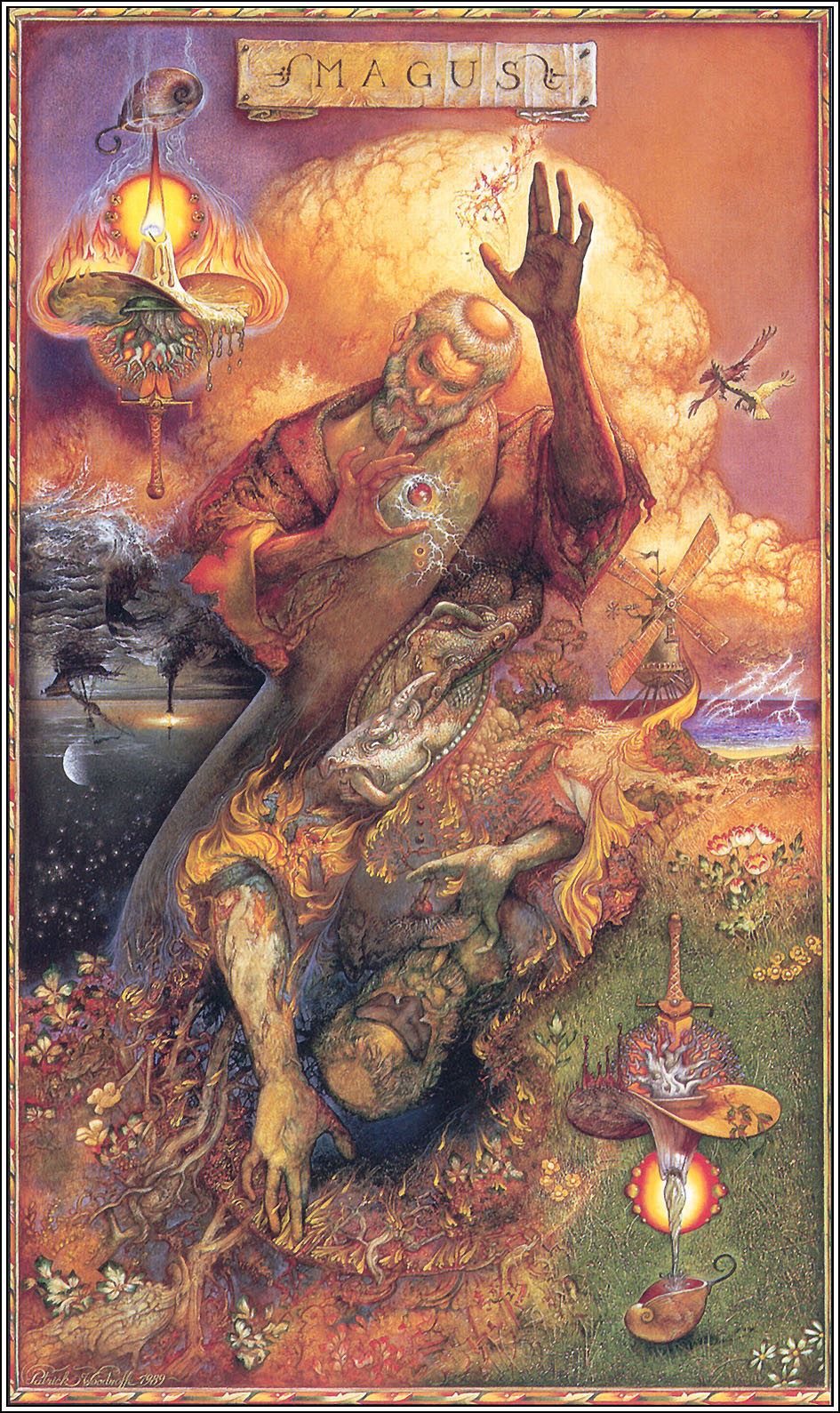 The Magician Tarot by Patrick James Woodroffe: History, Analysis & Facts