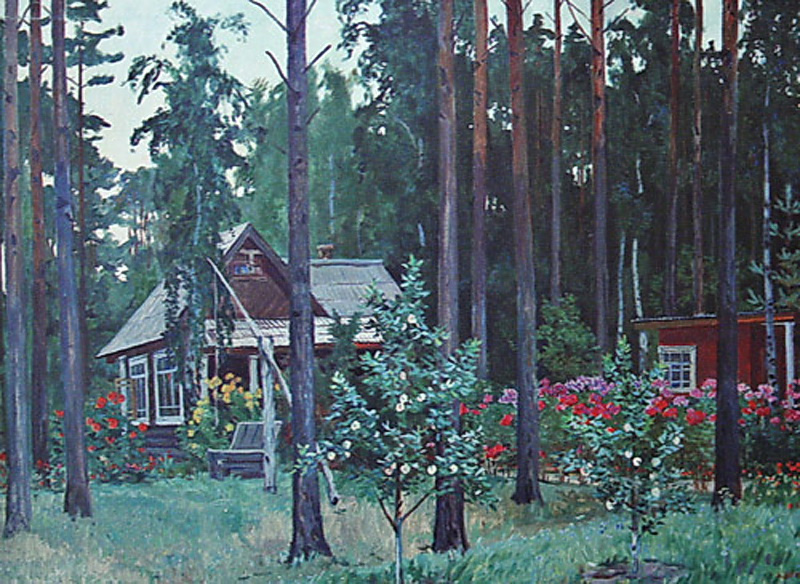 Александр Александрович Дейнека. Вечер на даче