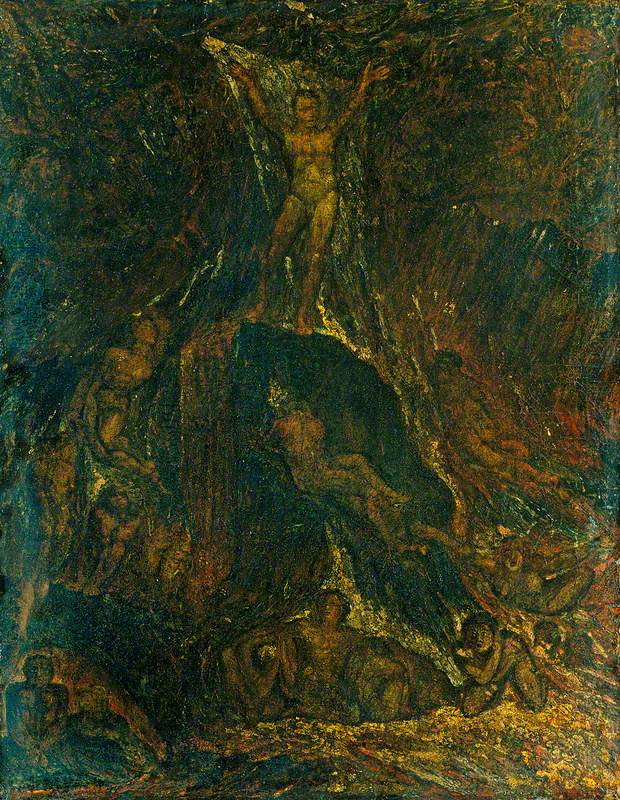 William Blake. Satan calls your Legion