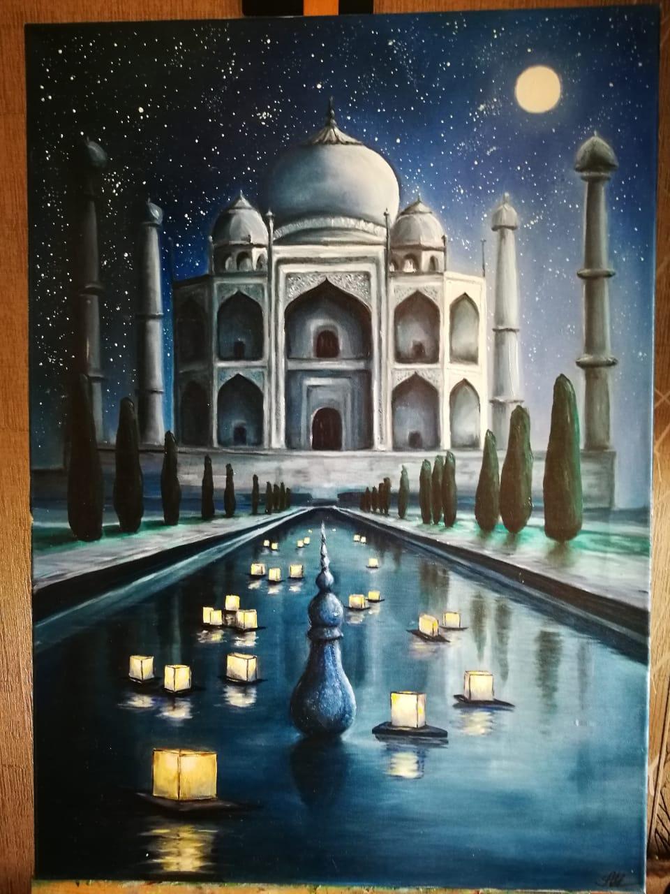 Alena Shaevskaya. Taj Mahal