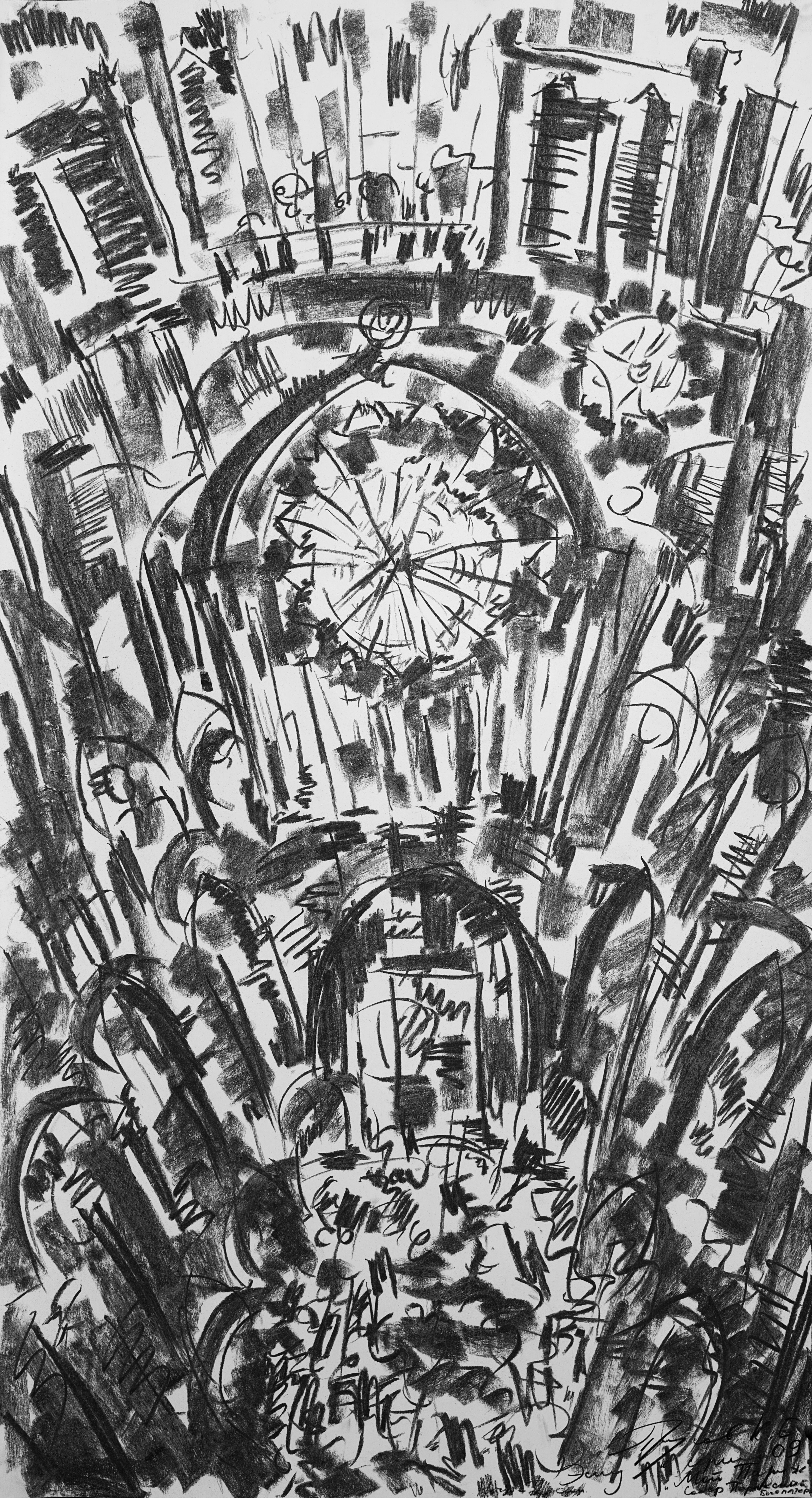 Konstantin Prusov. Notre Dame Cathedral
