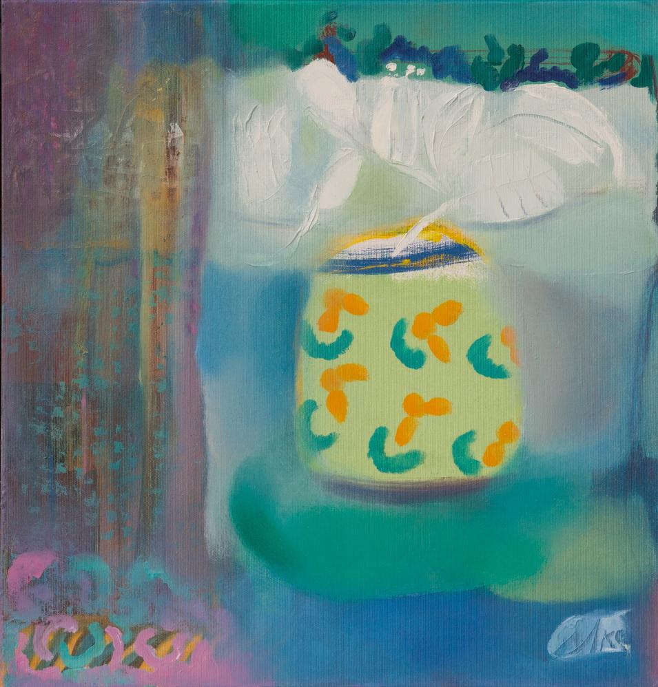Victoria Nikolaevna Aksenova. Decorative vase