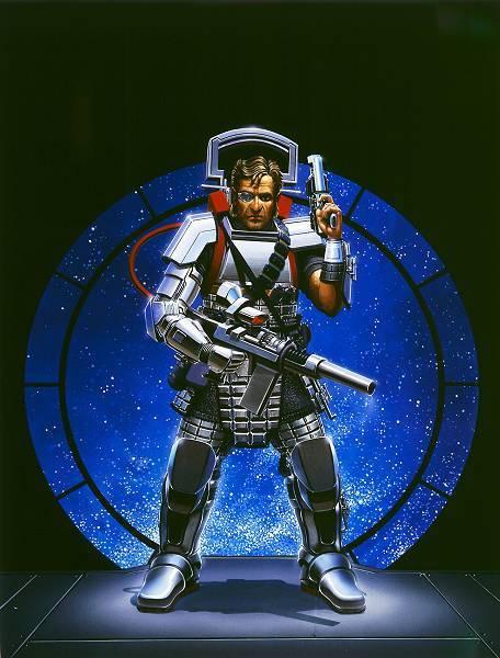 Кит Паркинсон. Космический воин