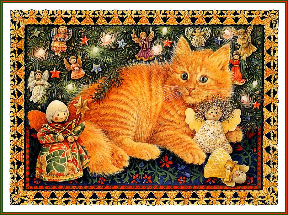 Рыжие коты открытки, отправить анонимное картинки