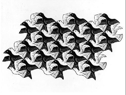 Мауриц Корнелис Эшер. Птицы7