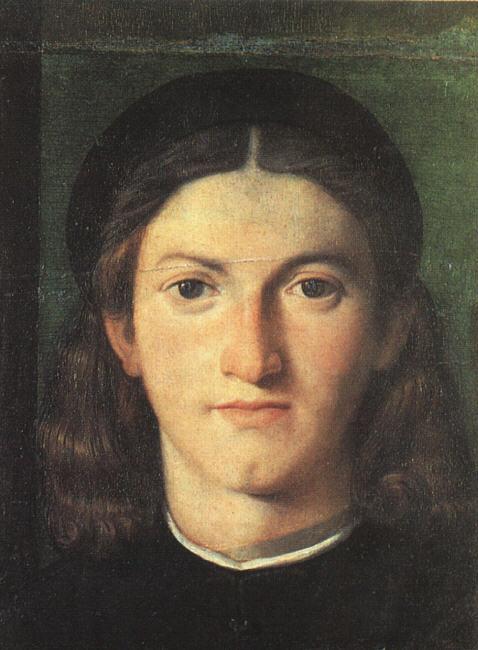 Лоренцо Лотто. Голова молодого человека