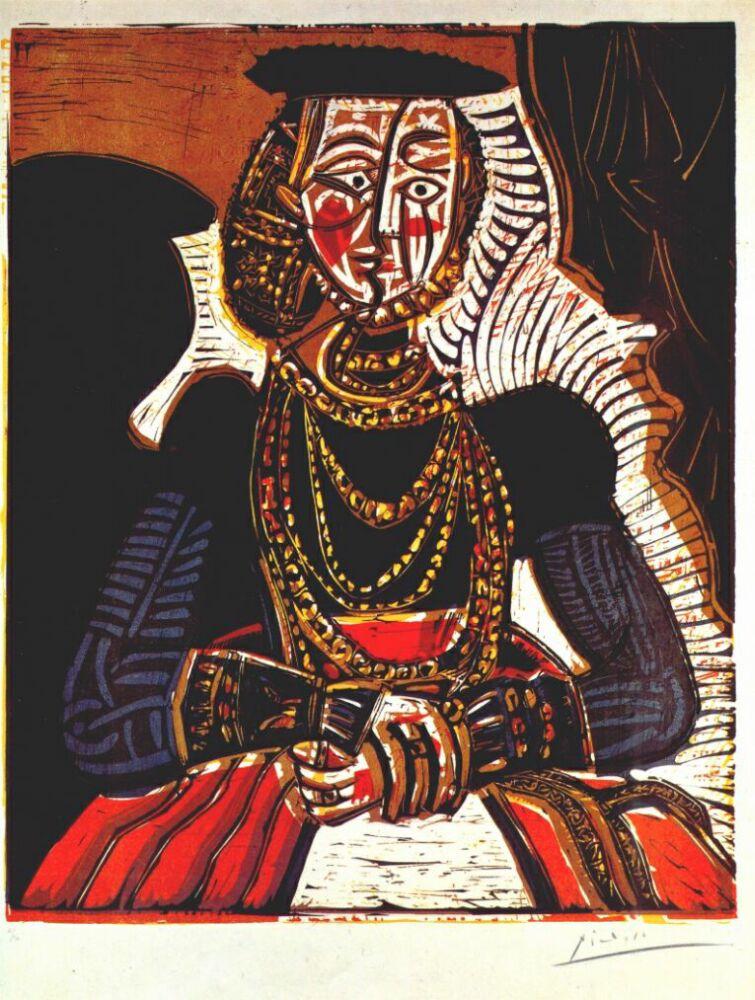 Пабло Пикассо. Портрет женщины Пикассо
