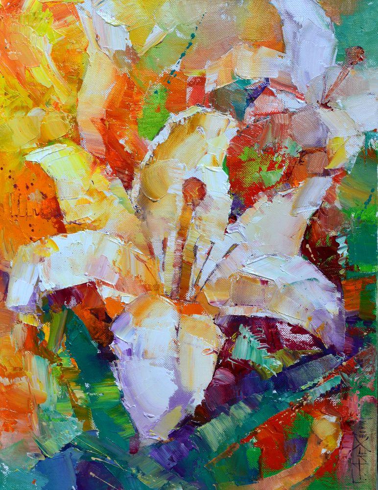 Gennady Alekhnovich. Lilies