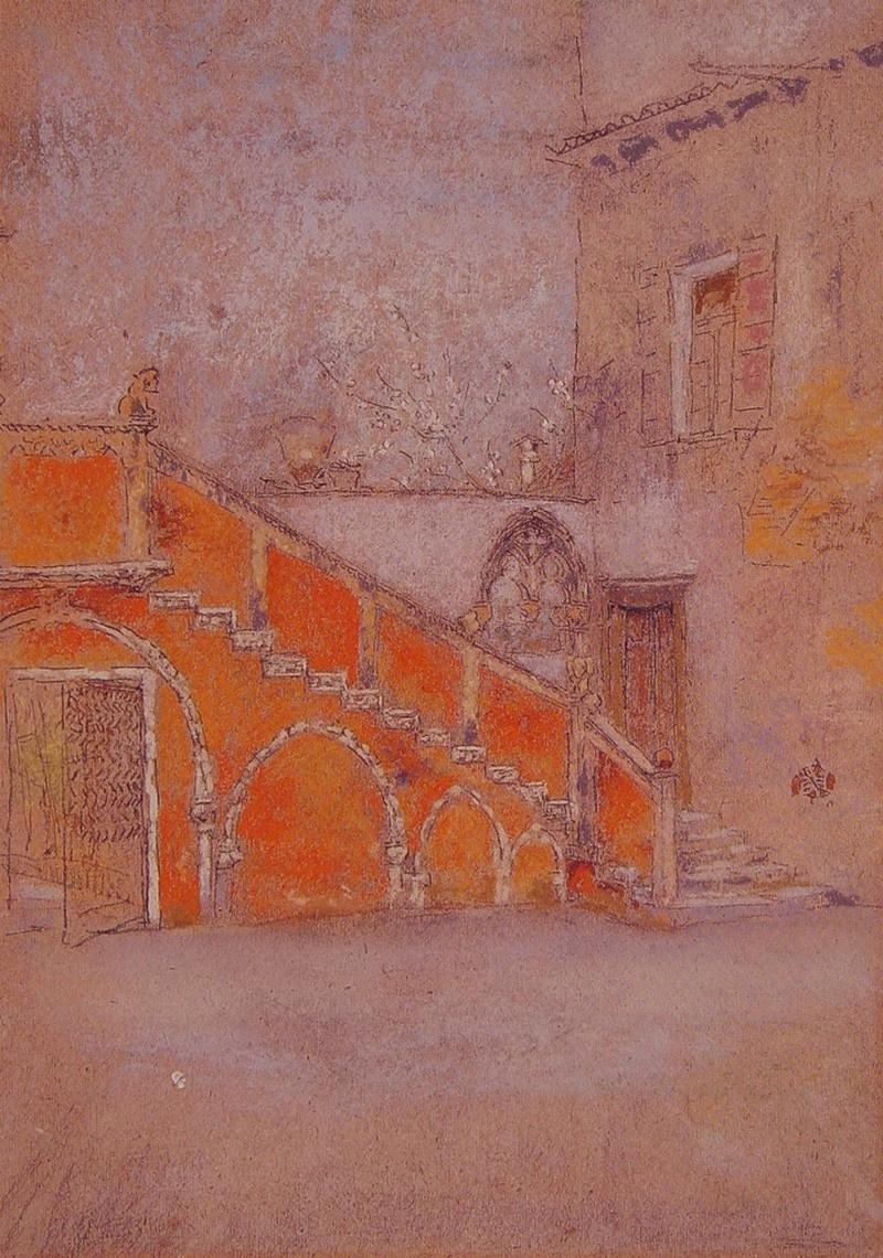 Картинки по запросу james abbott mcneill whistler - the staircase note