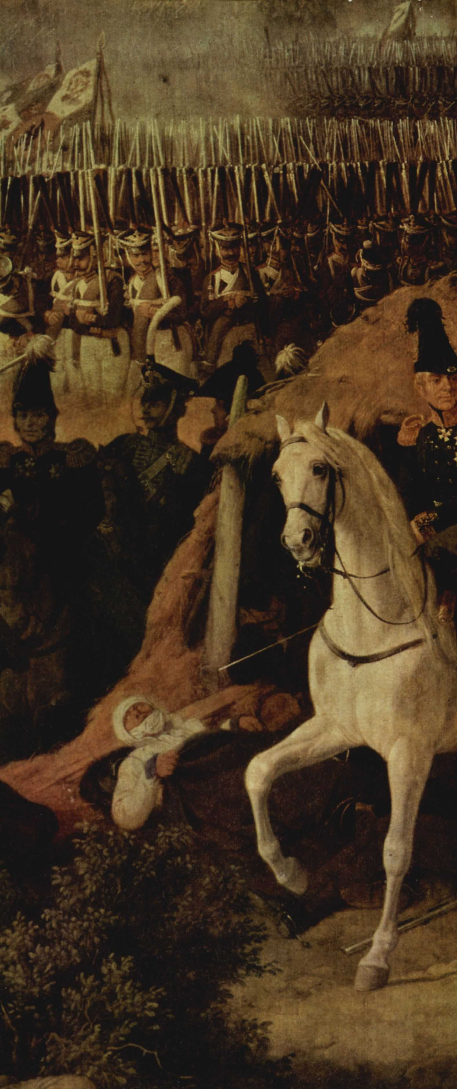 Peter von Hess. The battle of Borodino