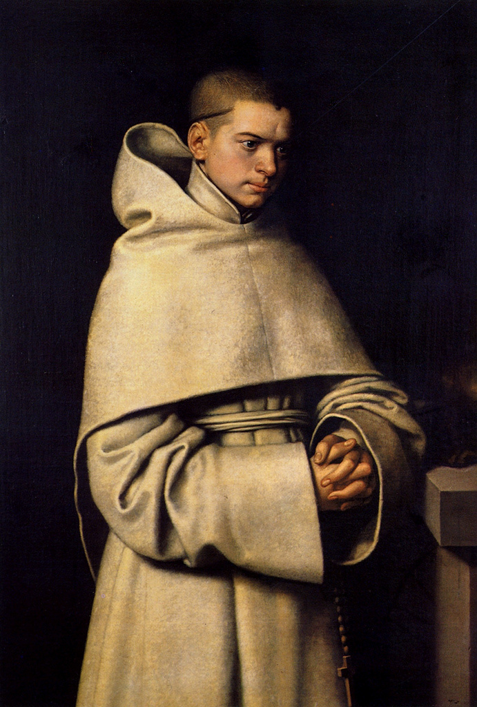 Sofonisba Angisola. Portrait of a monk
