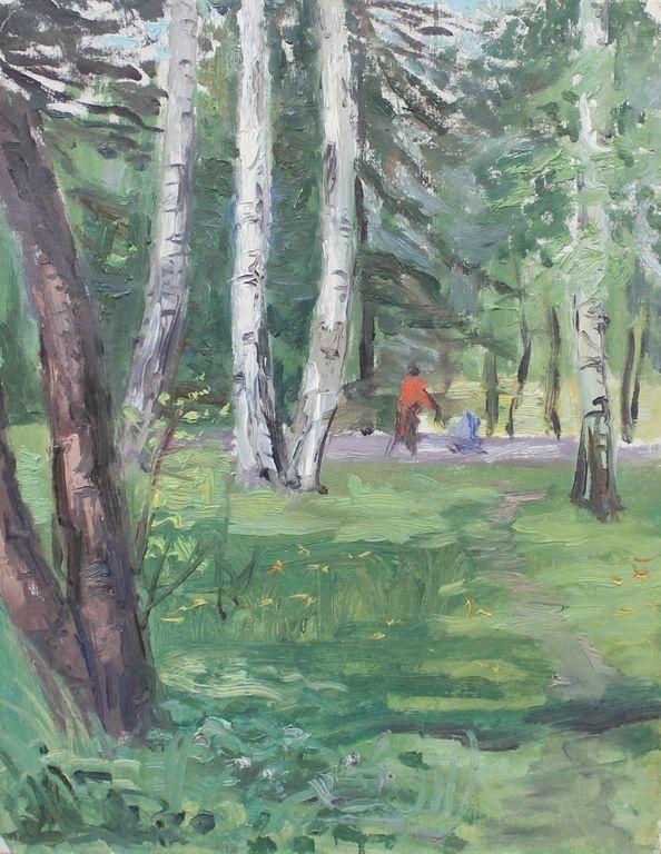 Eugene Mikhailovich Emelyanov. Leningrad. Sosnovka