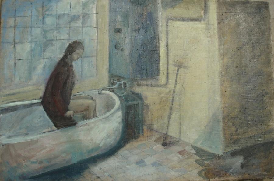 Elena Gostyushina. Bathroom