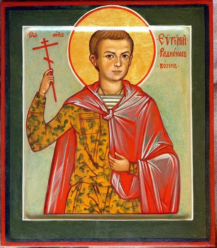Moscow Icon Painting Workshop. Eugene Radionov