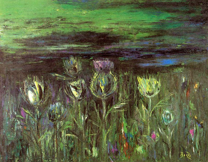 Мануэль Баеза. Цветы 2