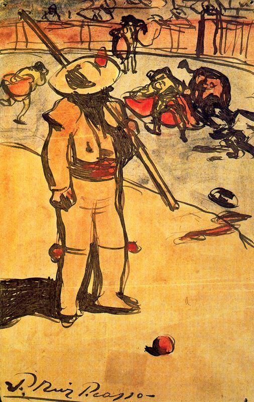 Пабло Пикассо. Пикадор