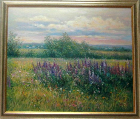 Mikhail Stanislavovich Rzheutsky. Розовый рассвет