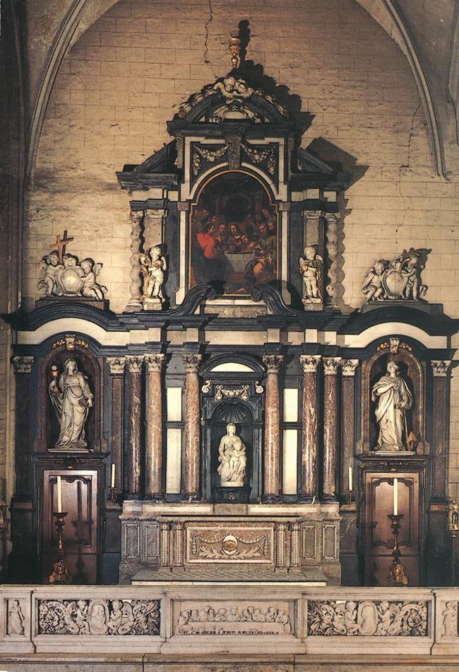 Микеланджело Буонарроти. Церковь Богоматери в Брюгге.