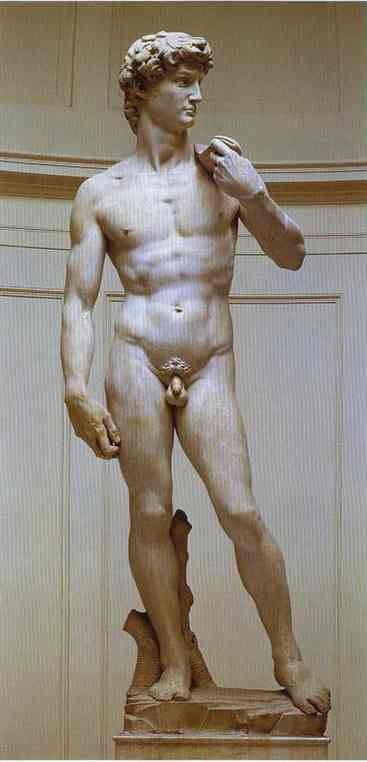 Микеланджело Буонарроти. Давид.