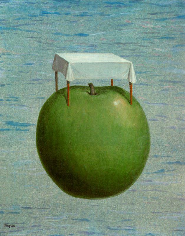 René Magritte. Beautiful realities