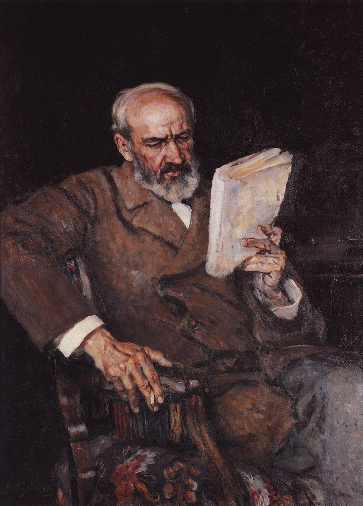 Василий Иванович Суриков. Портрет доктора Езерского