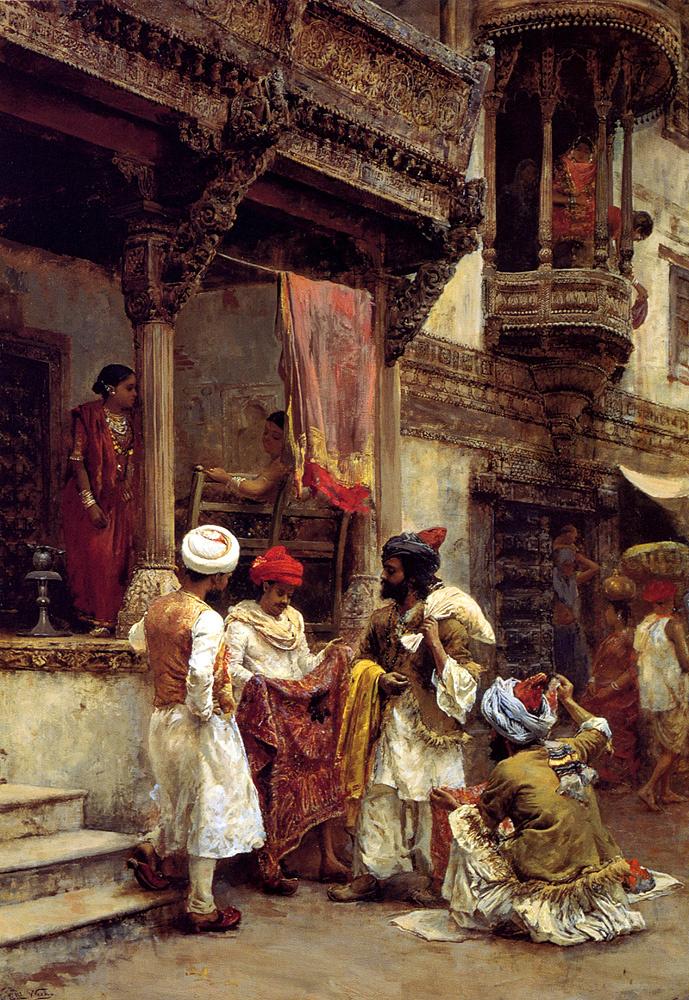 Edwin Lord Weeks. Merchants silk