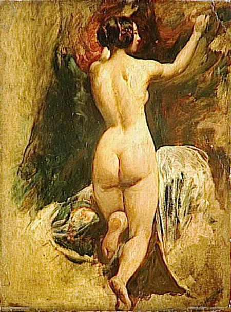 Уильям Этти. Обнаженная женщина сзади
