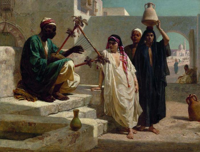 Фредерик Гудолл. Песня нубийского раба